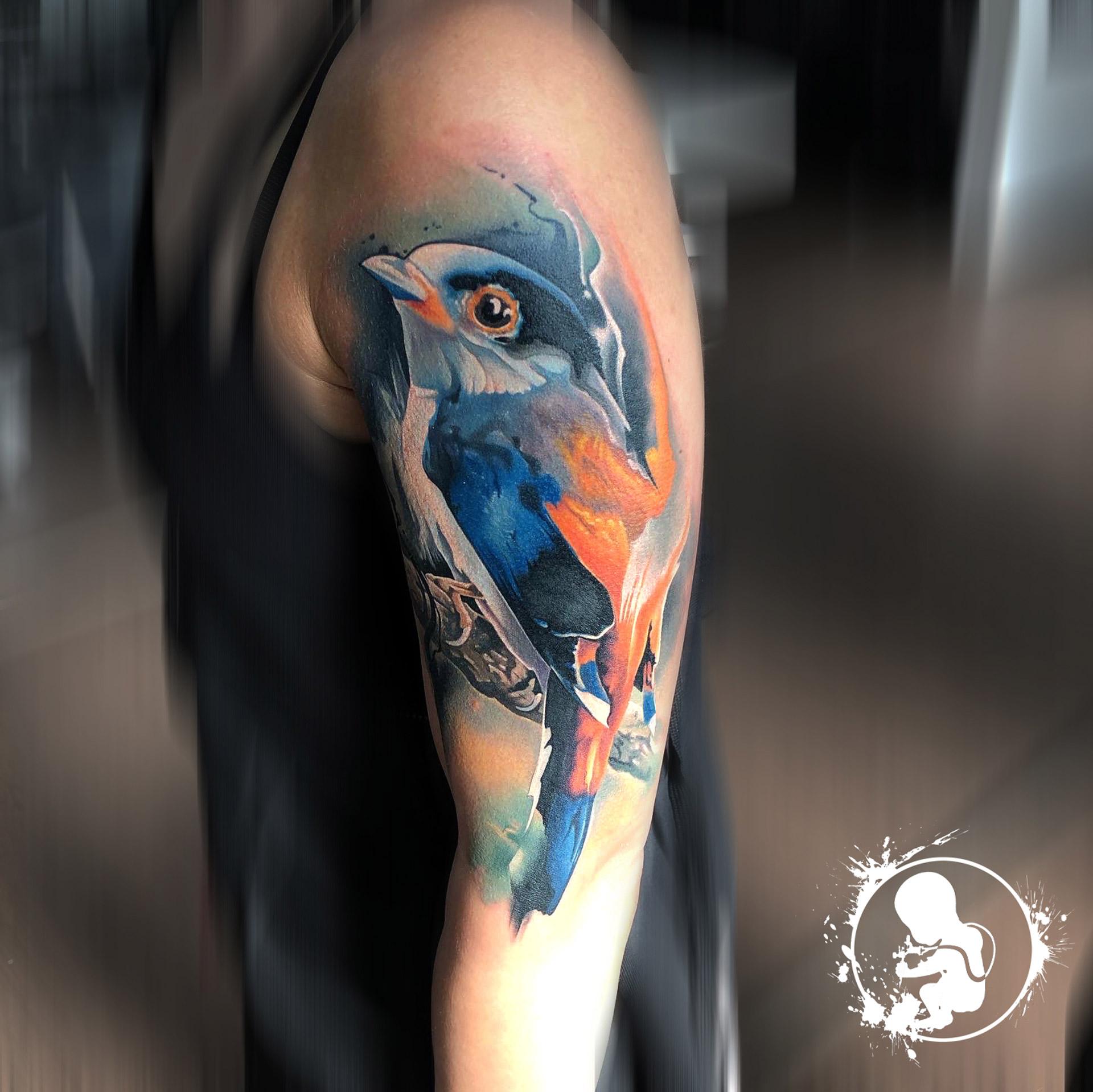 Vogel | Thomas | Newborn Tattoo Wolfratshausen