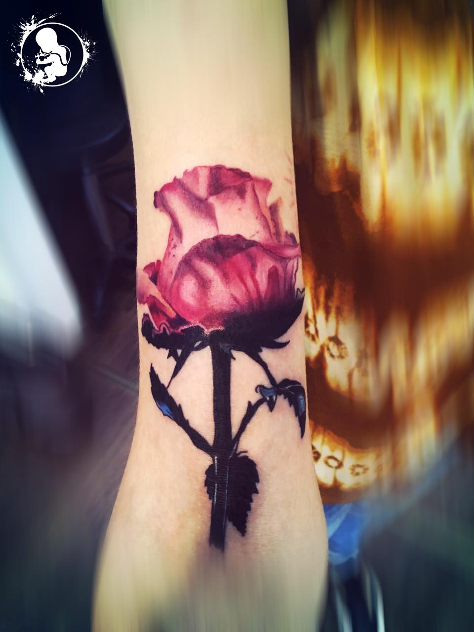 Blume | Vanessa | Newborn Tattoo Wolfratshausen