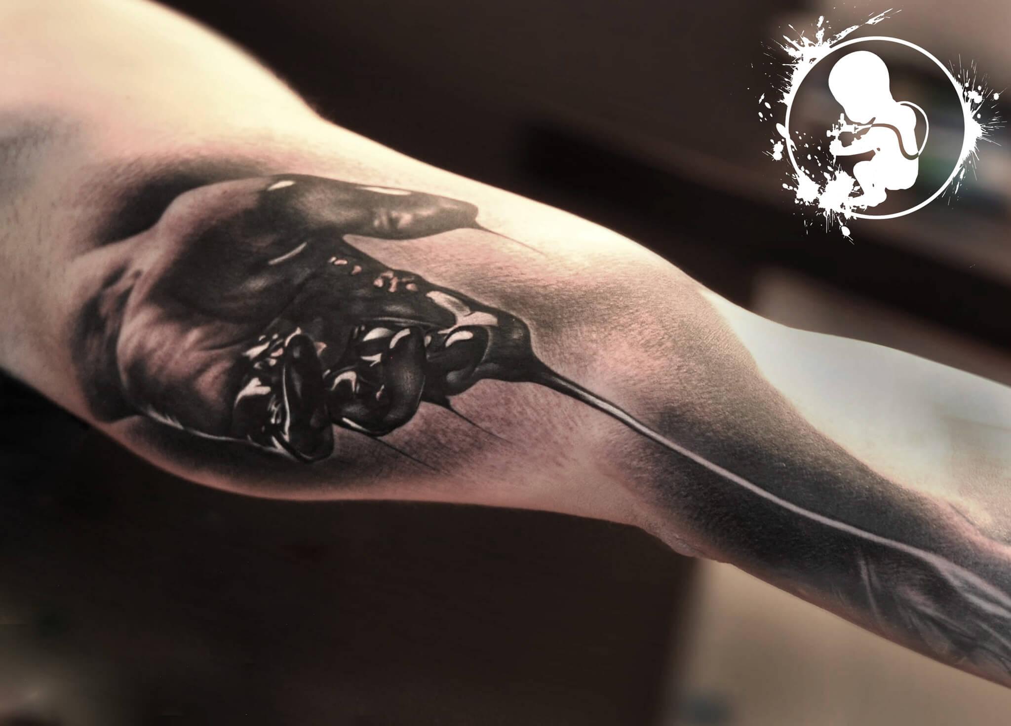 Hand | Thomas | Newborn Tattoo Wolfratshausen