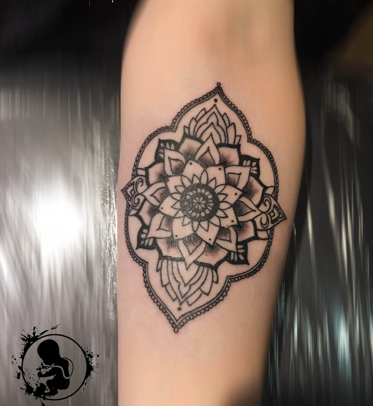 Mandala | Lea | Newborn Tattoo Wolfratshausen