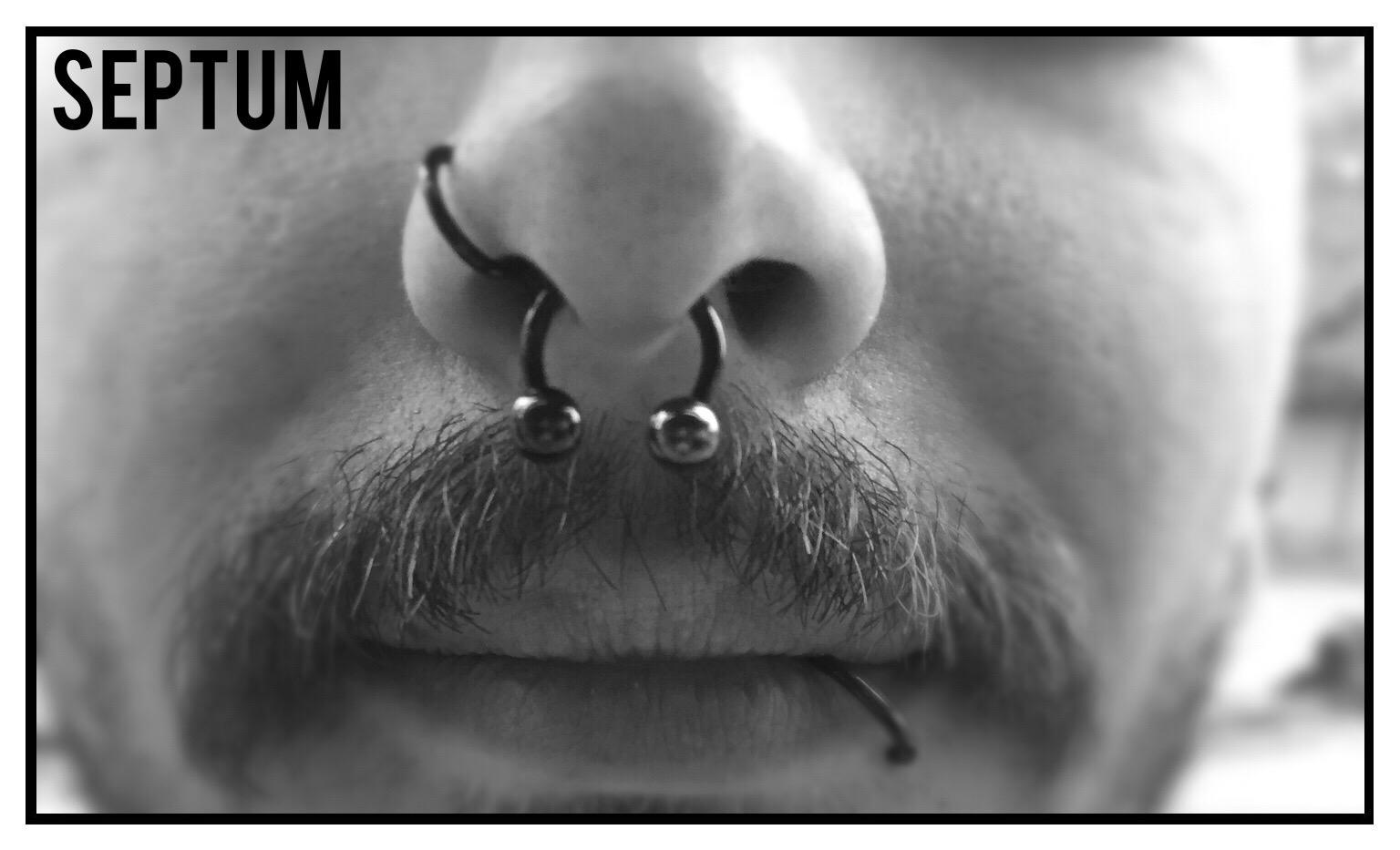 Septum | Michi | Newborn Tattoo Wolfratshausen
