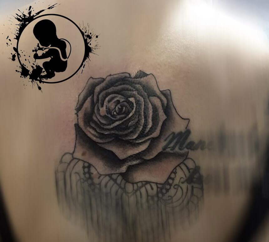 Rose | Lea | Newborn Tattoo Wolfratshausen