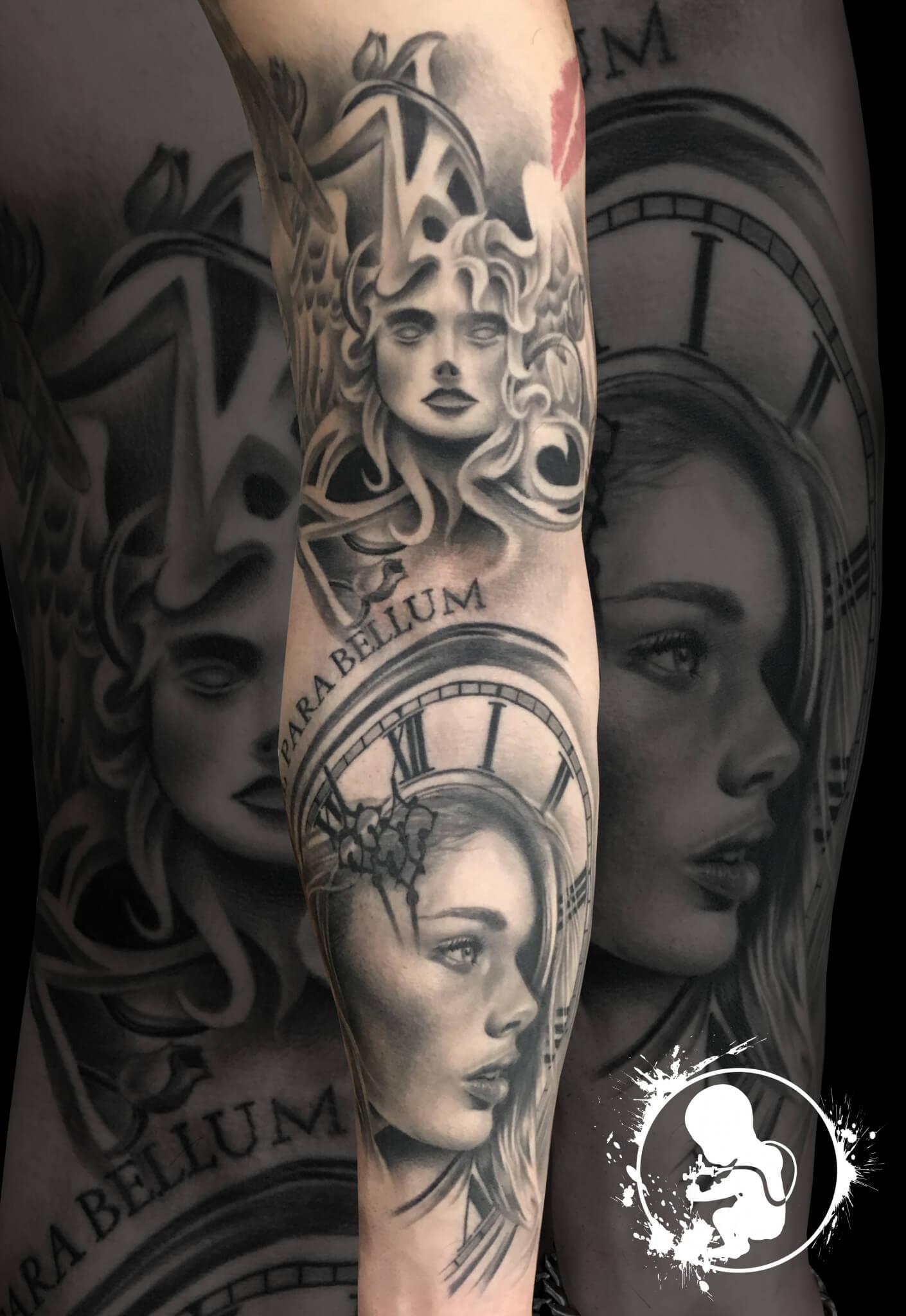 Tattoo von Thomas | Newborn Tattoo Wolfratshausen