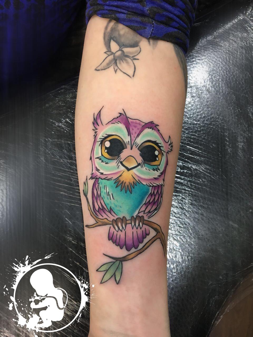Tattoo von Vanessa | Newborn Tattoo Wolfratshausen