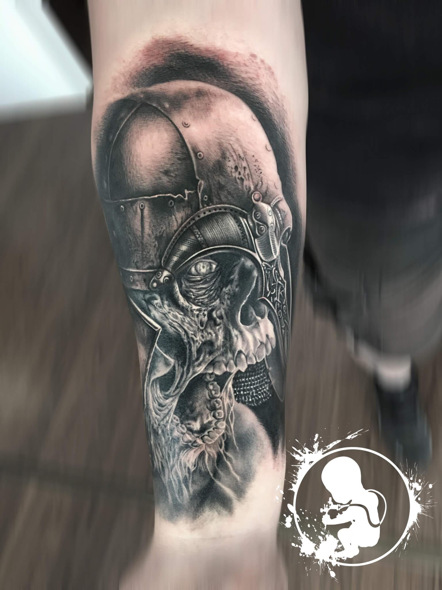 Vikinger | Thomas | Newborn Tattoo Wolfratshausen